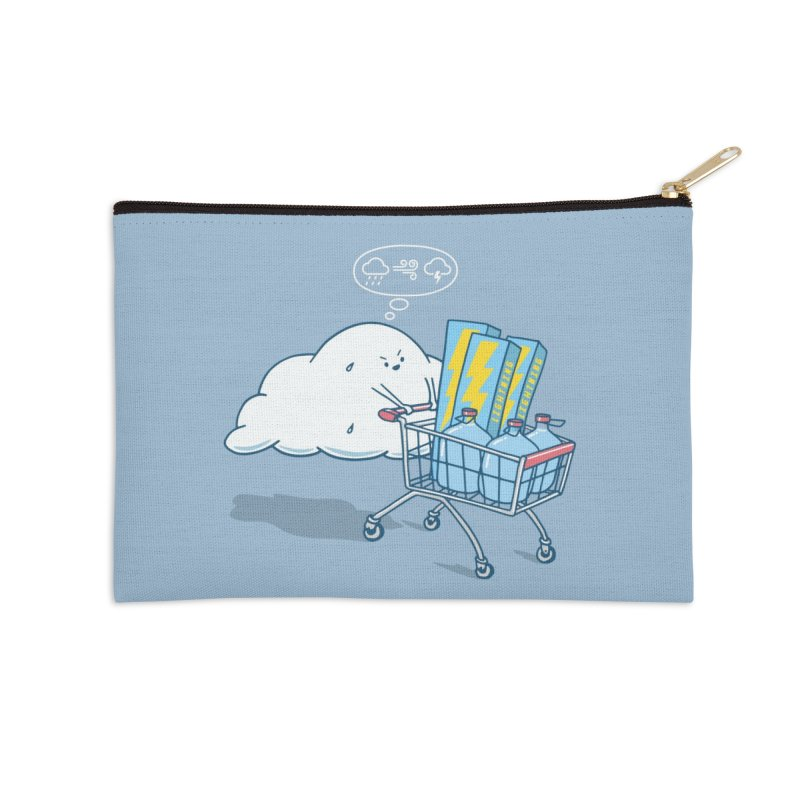 weather forecast Accessories Zip Pouch by gotoup's Artist Shop