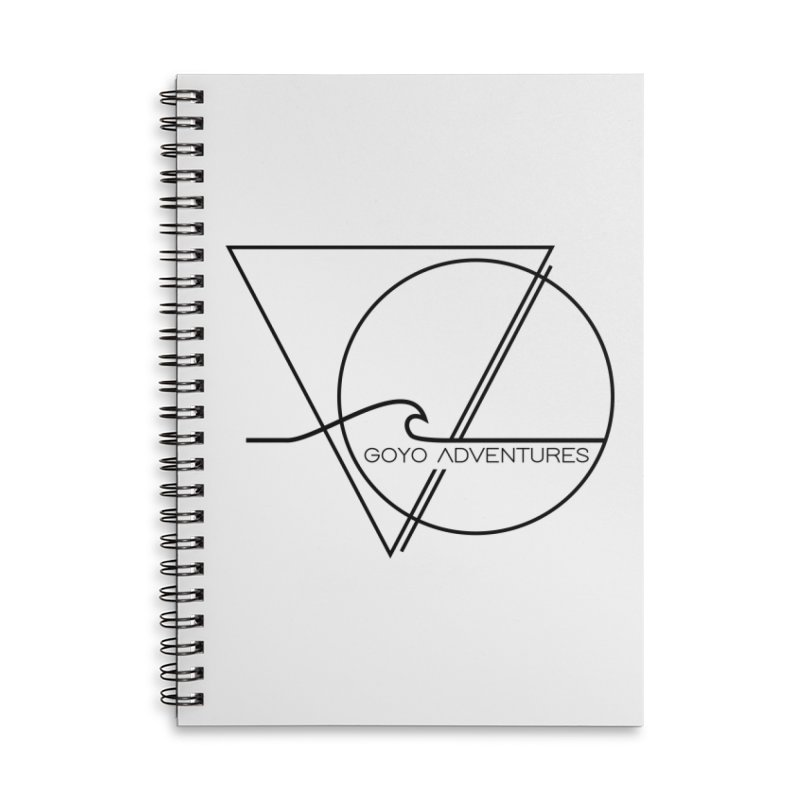 GLOW Accessories Lined Spiral Notebook by GOYO ADVENTURES