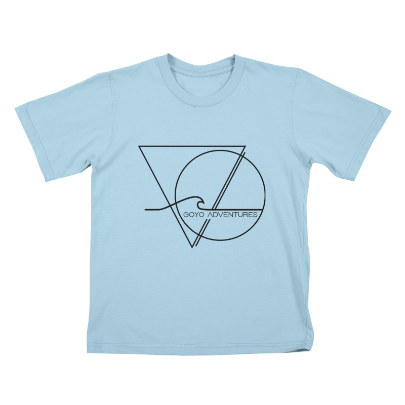 GLOW in Kids T-Shirt Powder Blue by GOYO ADVENTURES