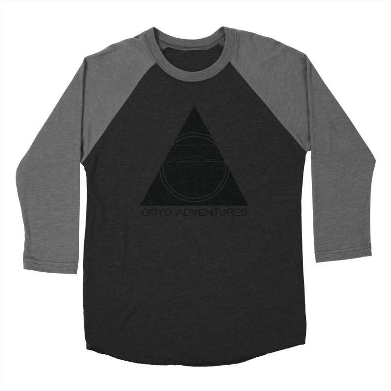 CONNECT Men's Baseball Triblend Longsleeve T-Shirt by GOYO ADVENTURES