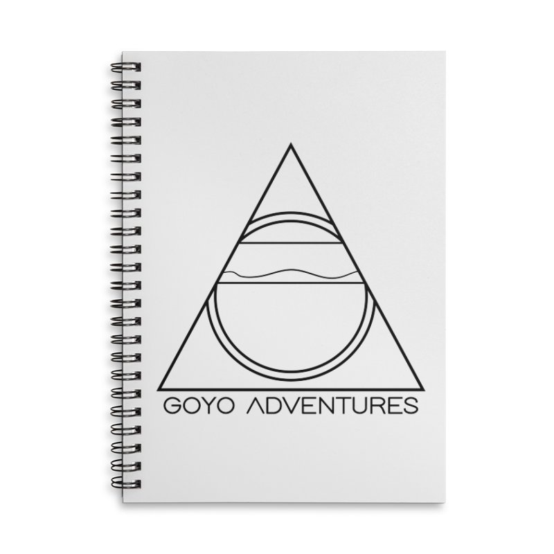 EXPLORE Accessories Lined Spiral Notebook by GOYO ADVENTURES