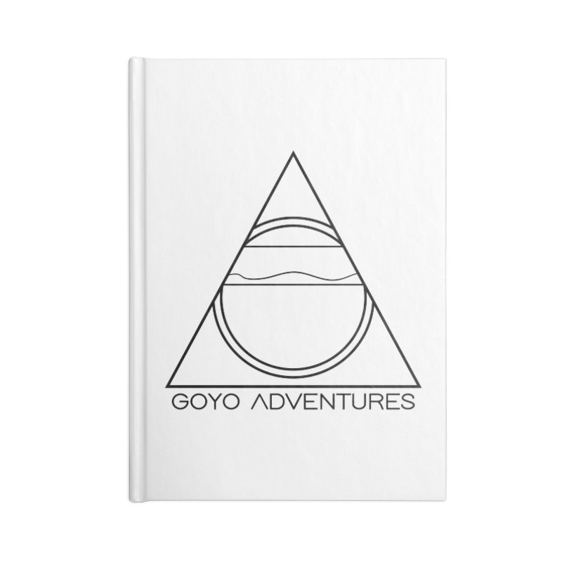 EXPLORE Accessories Lined Journal Notebook by GOYO ADVENTURES