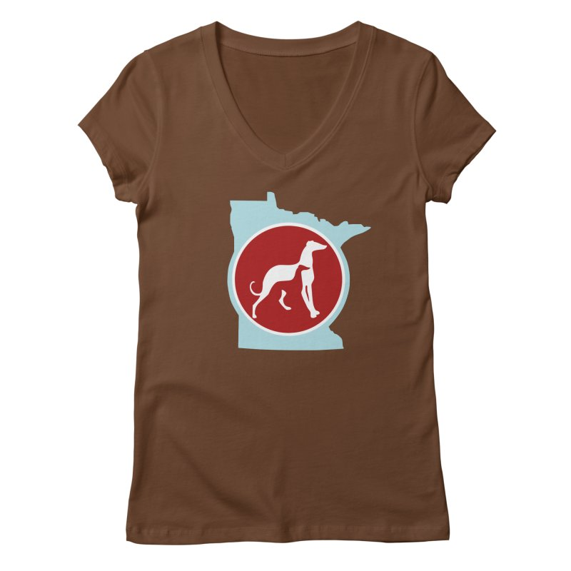 GPA Minnesota outline Women's V-Neck by GPA-MN Merchandise Shop