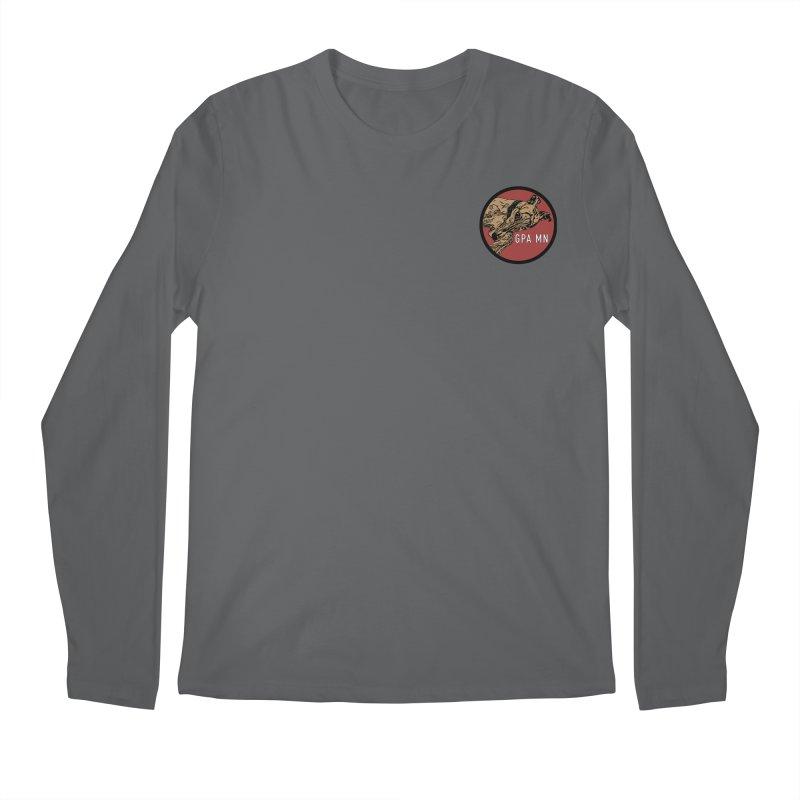 GPA-MN Brindle Greyhound Men's Longsleeve T-Shirt by GPA-MN Merchandise Shop