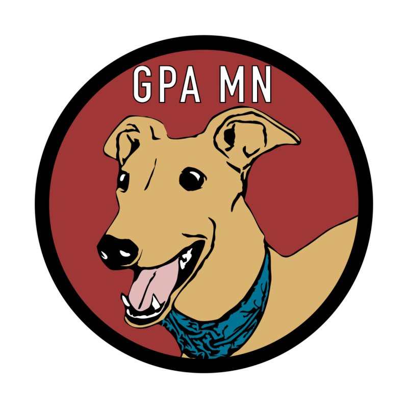 GPA-MN Fawn Greyhound Women's V-Neck by GPA-MN Merchandise Shop