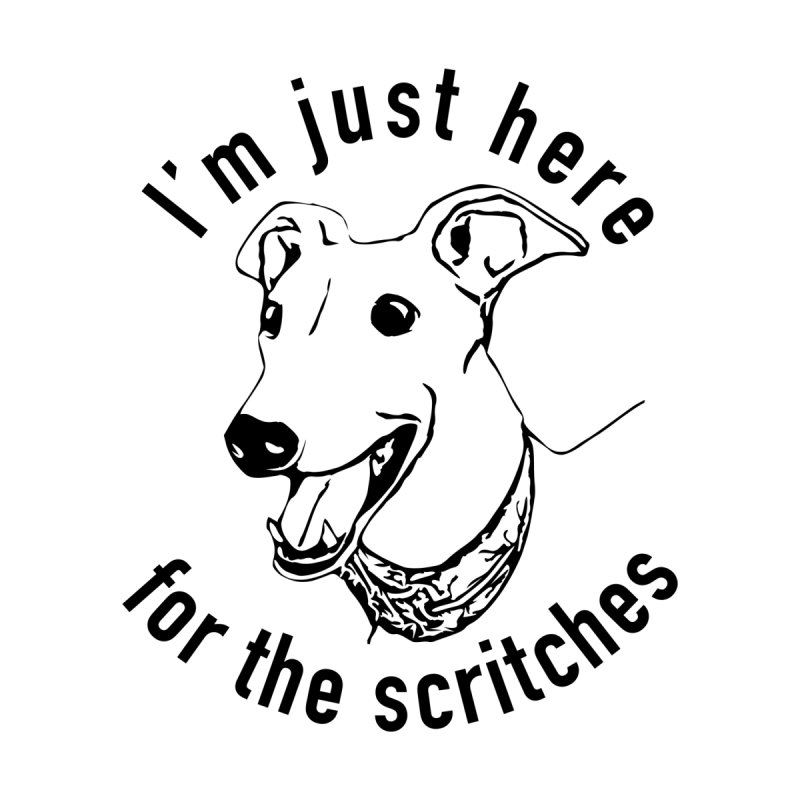 Just here for the scritches Accessories Sticker by GPA-MN Merchandise Shop