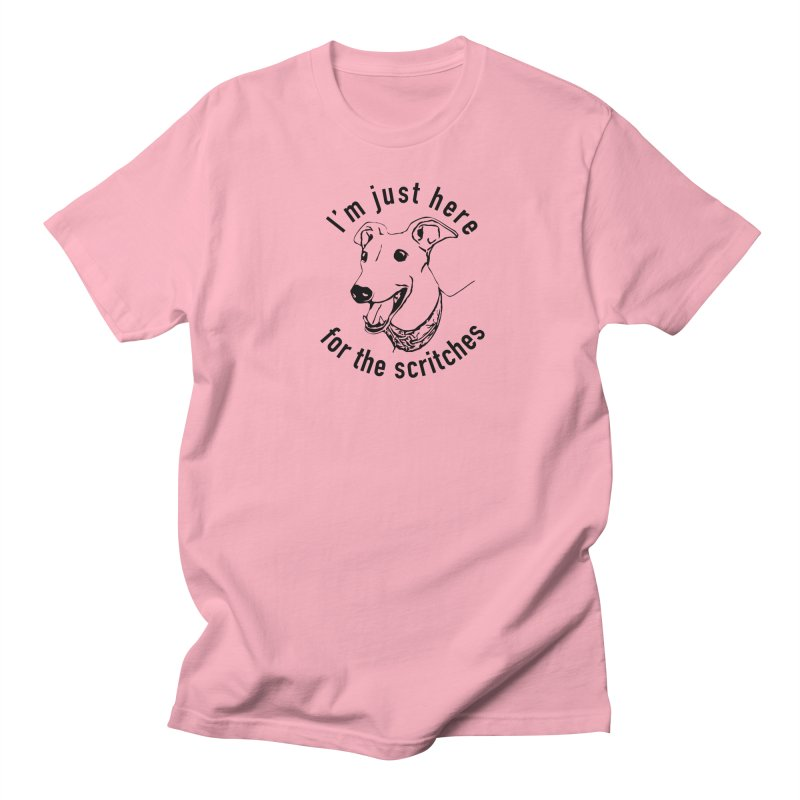 Just here for the scritches Men's T-Shirt by GPA-MN Merchandise Shop