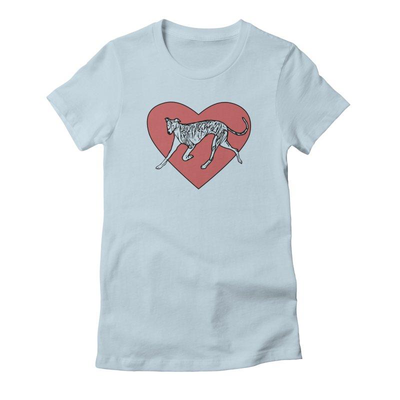 In My Heart Women's T-Shirt by GPA-MN Merchandise Shop