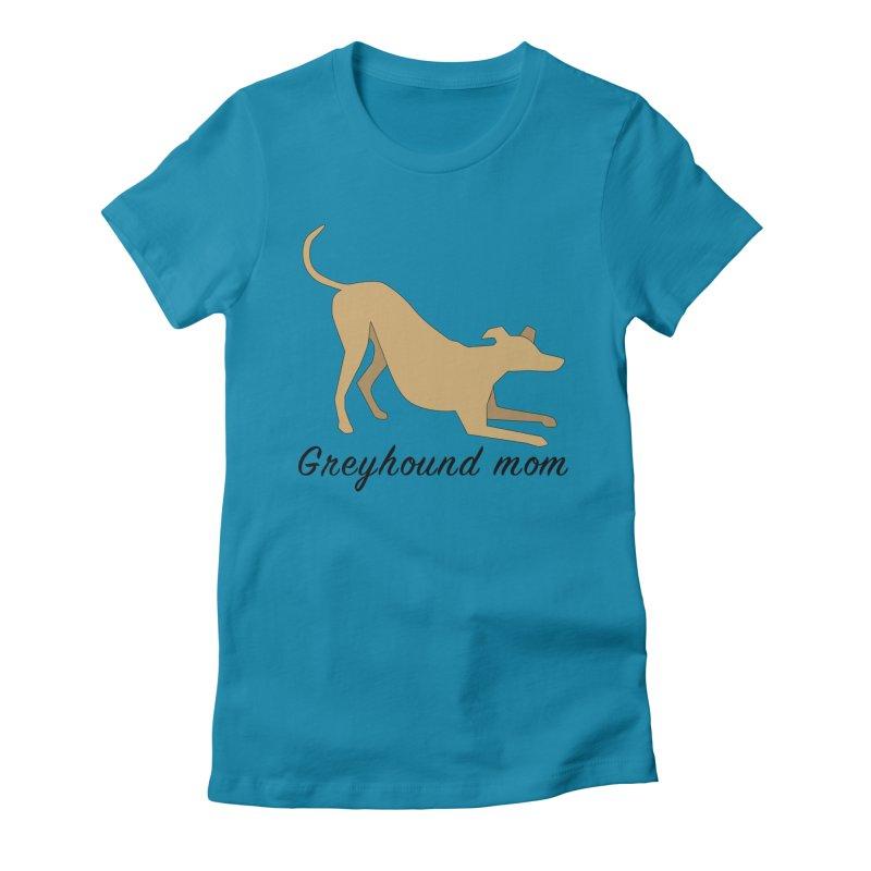 Greyhound Mom (fawn) Women's T-Shirt by GPA-MN Merchandise Shop