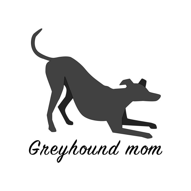 Greyhound Mom (black) Women's T-Shirt by GPA-MN Merchandise Shop
