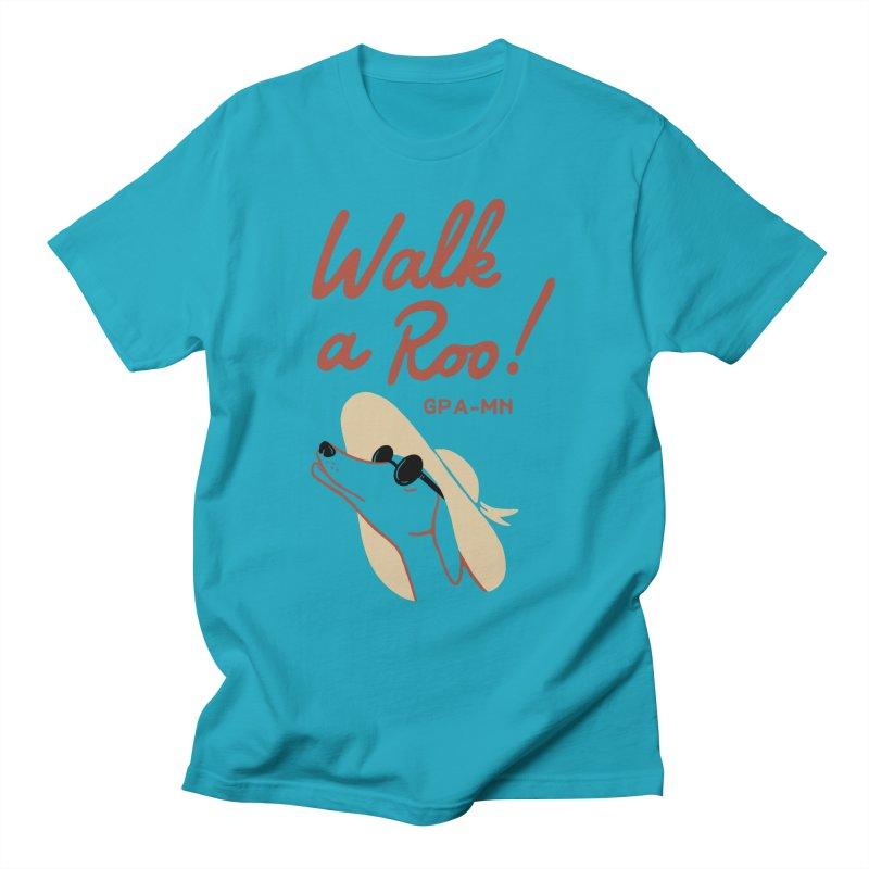 GPA-MN Walk a Roo Registration & Tshirt! Men's T-Shirt by GPA-MN Merchandise Shop