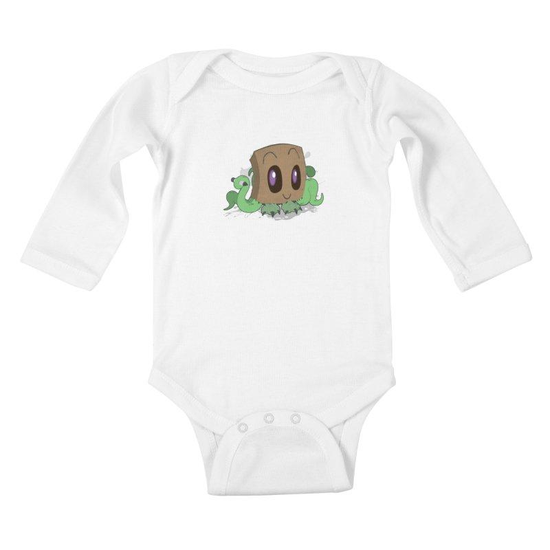 Adorable? Kids Baby Longsleeve Bodysuit by gpedde's Artist Shop