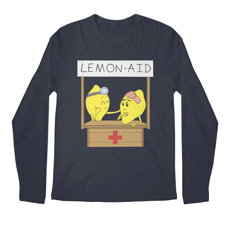 Lemon - Aid Men's Regular Longsleeve T-Shirt by gpedde's Artist Shop