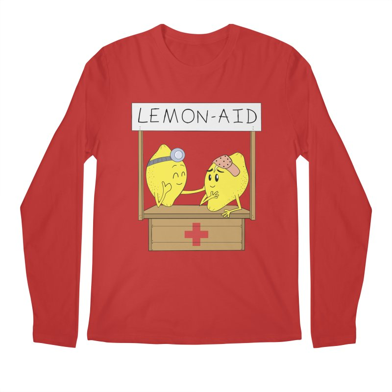 Lemon - Aid Men's Regular Longsleeve T-Shirt by gpedde's Artist Shop