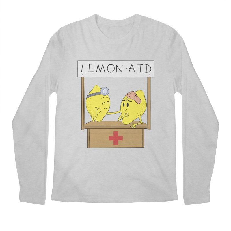 Lemon - Aid Men's Longsleeve T-Shirt by gpedde's Artist Shop