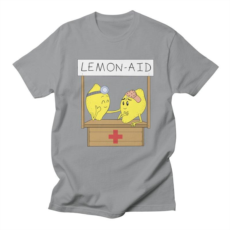 Lemon - Aid Men's T-Shirt by gpedde's Artist Shop