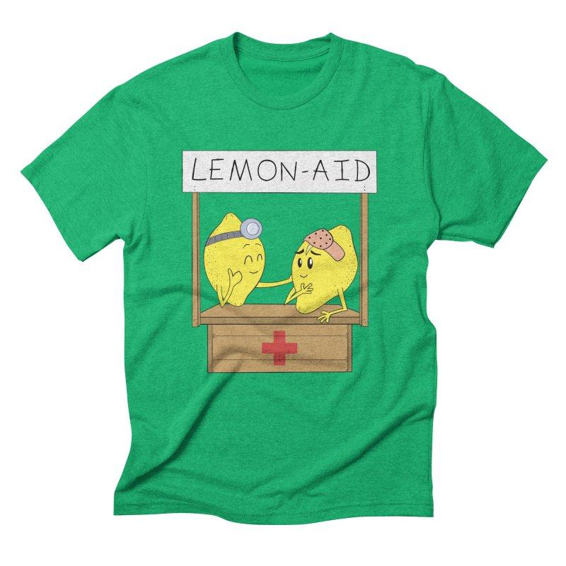 Lemon - Aid Men's Triblend T-Shirt by gpedde's Artist Shop