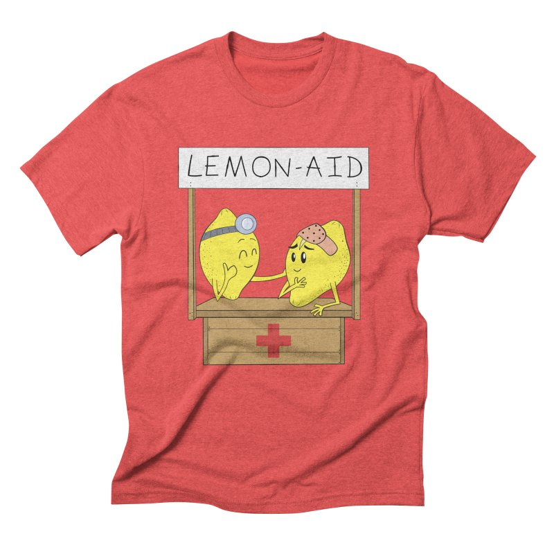 Lemon - Aid Men's Triblend T-Shirt by gpedde's Artist Shop