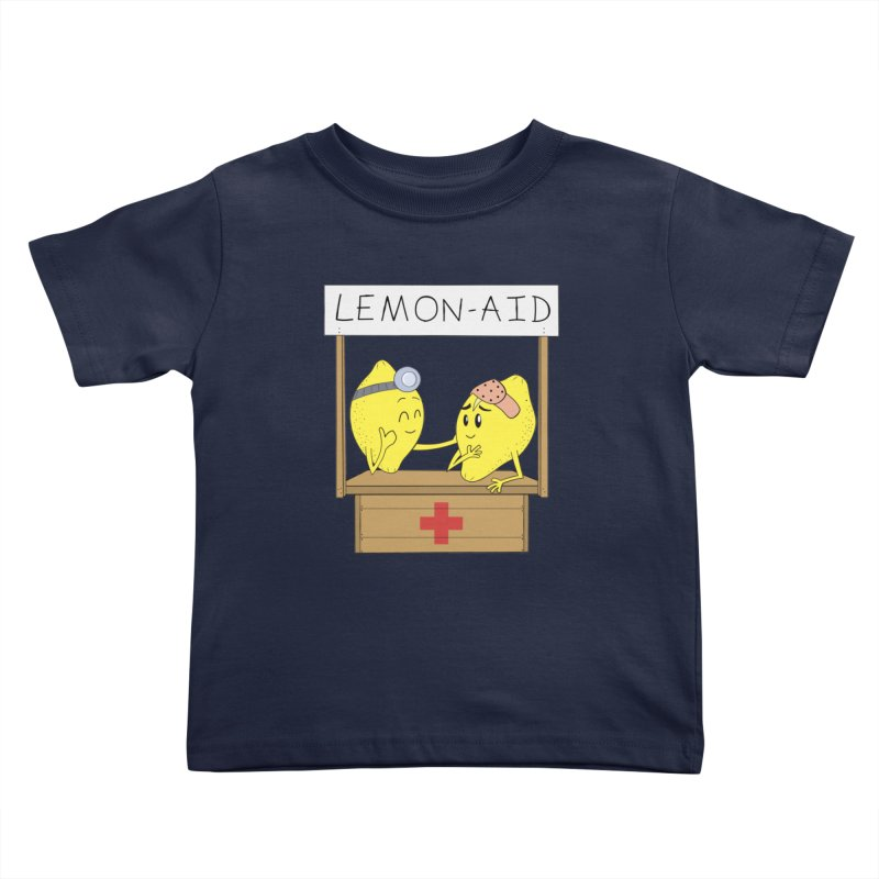 Lemon - Aid Kids Toddler T-Shirt by gpedde's Artist Shop