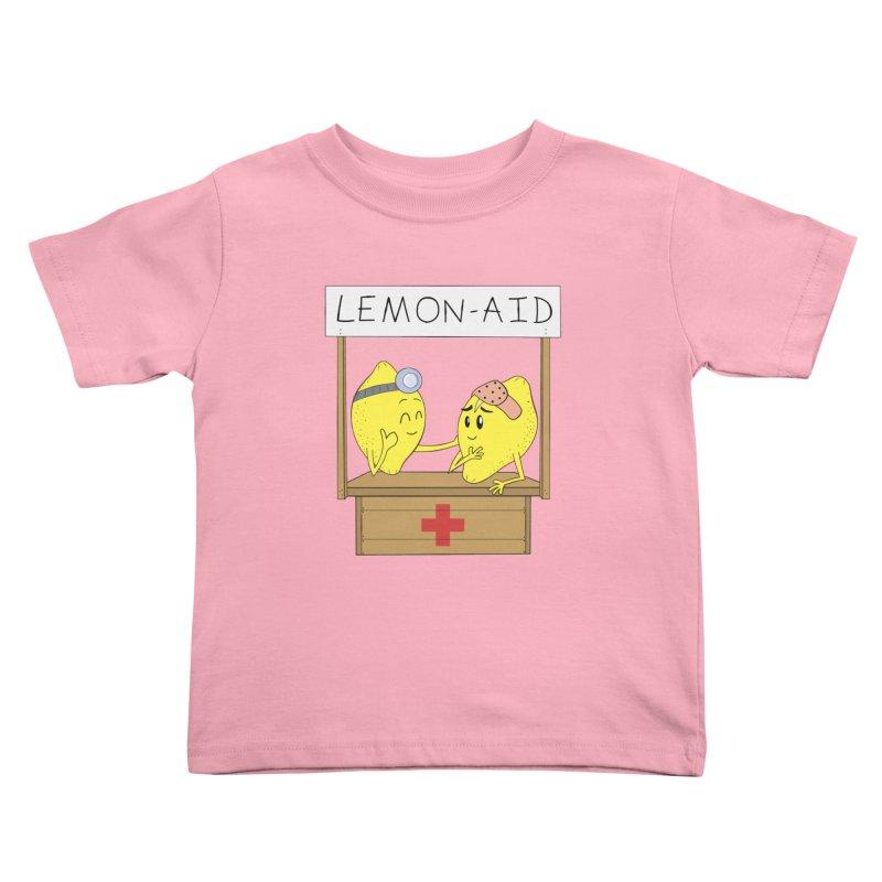 Lemon - Aid Kids Toddler T-Shirt by gpedde's Artist Shop