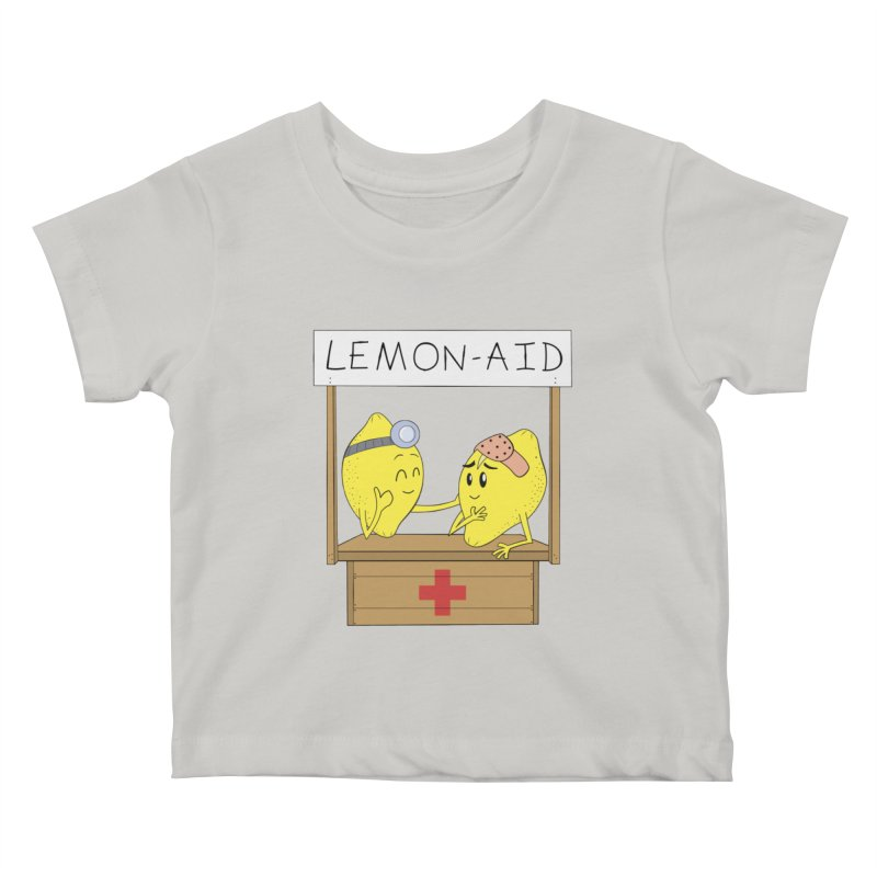 Lemon - Aid Kids Baby T-Shirt by gpedde's Artist Shop