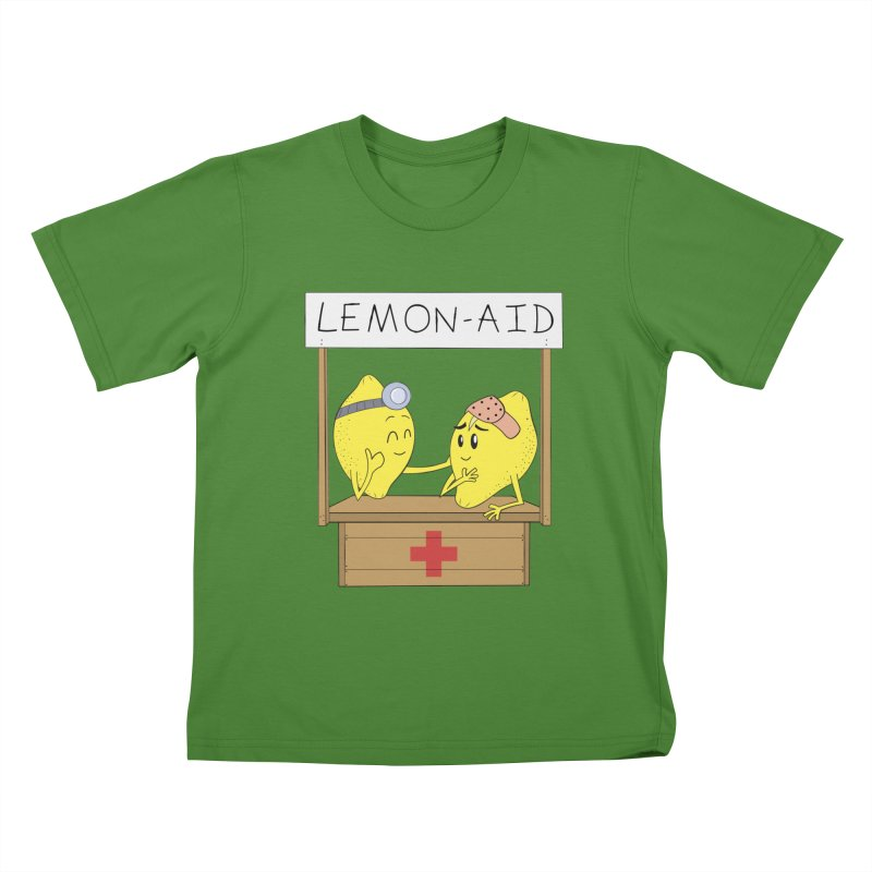 Lemon - Aid Kids T-Shirt by gpedde's Artist Shop