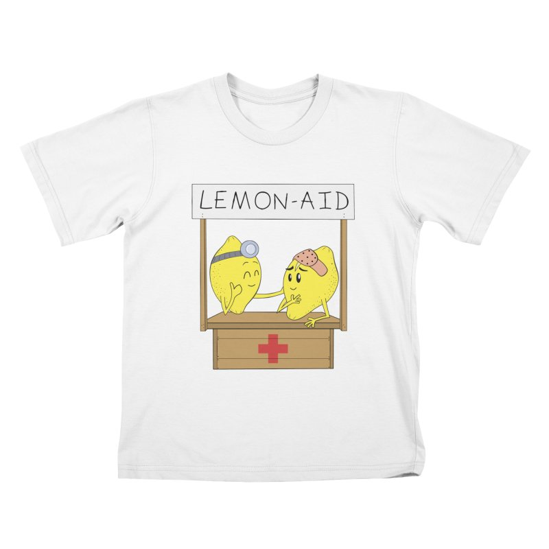 Lemon - Aid Kids T-Shirt by gpedde's Artist Shop