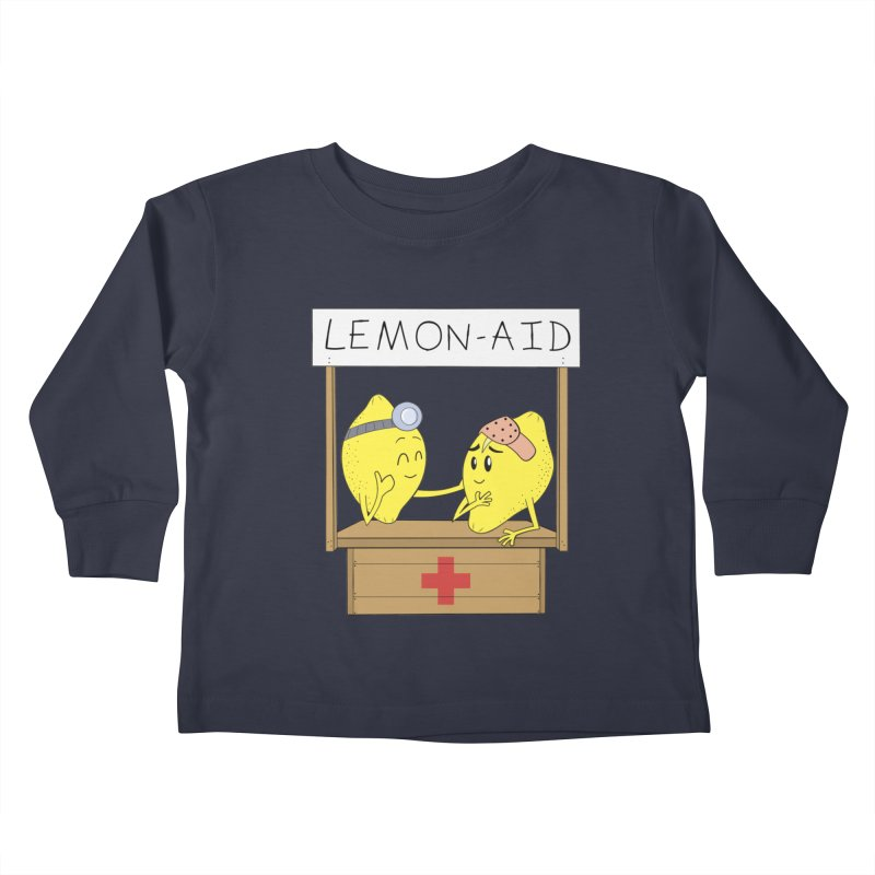 Lemon - Aid Kids Toddler Longsleeve T-Shirt by gpedde's Artist Shop