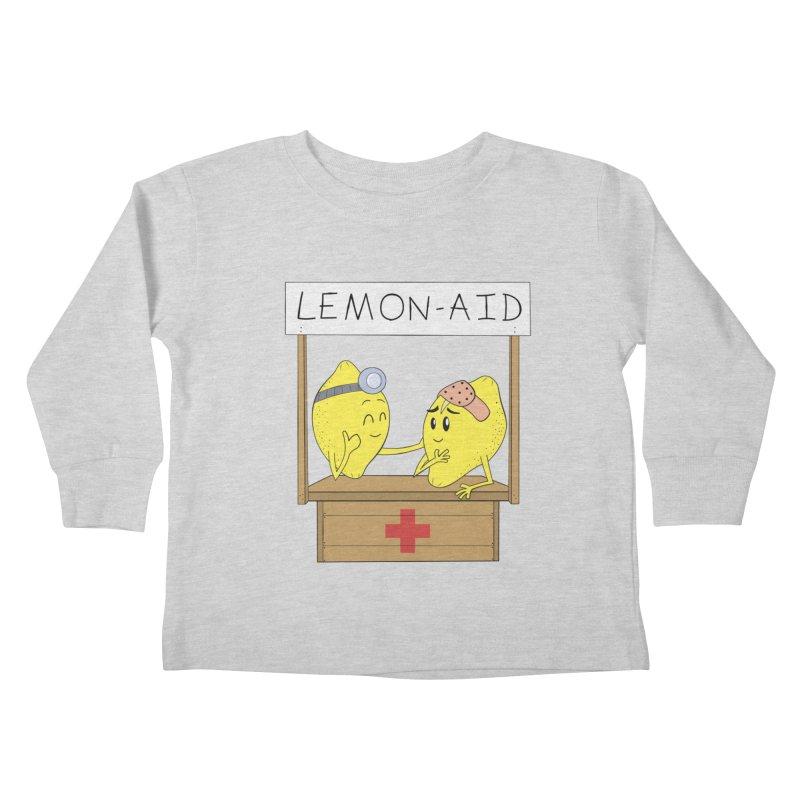 Lemon - Aid Kids Toddler Longsleeve T-Shirt by gpedde's Artist Shop