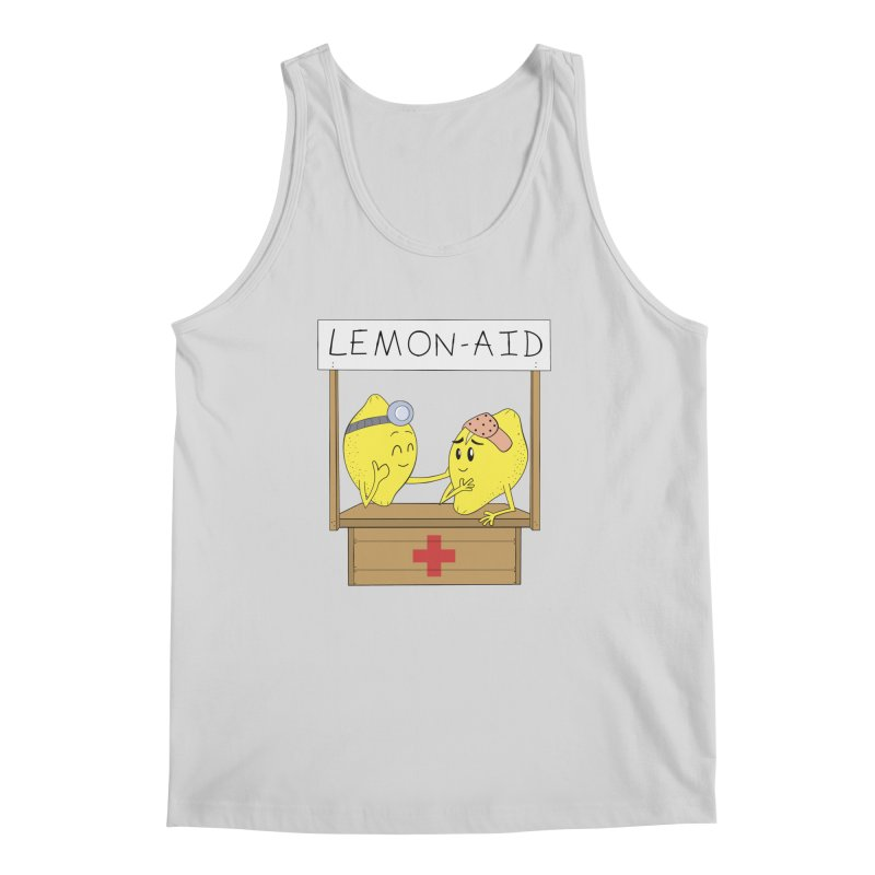 Lemon - Aid Men's Regular Tank by gpedde's Artist Shop