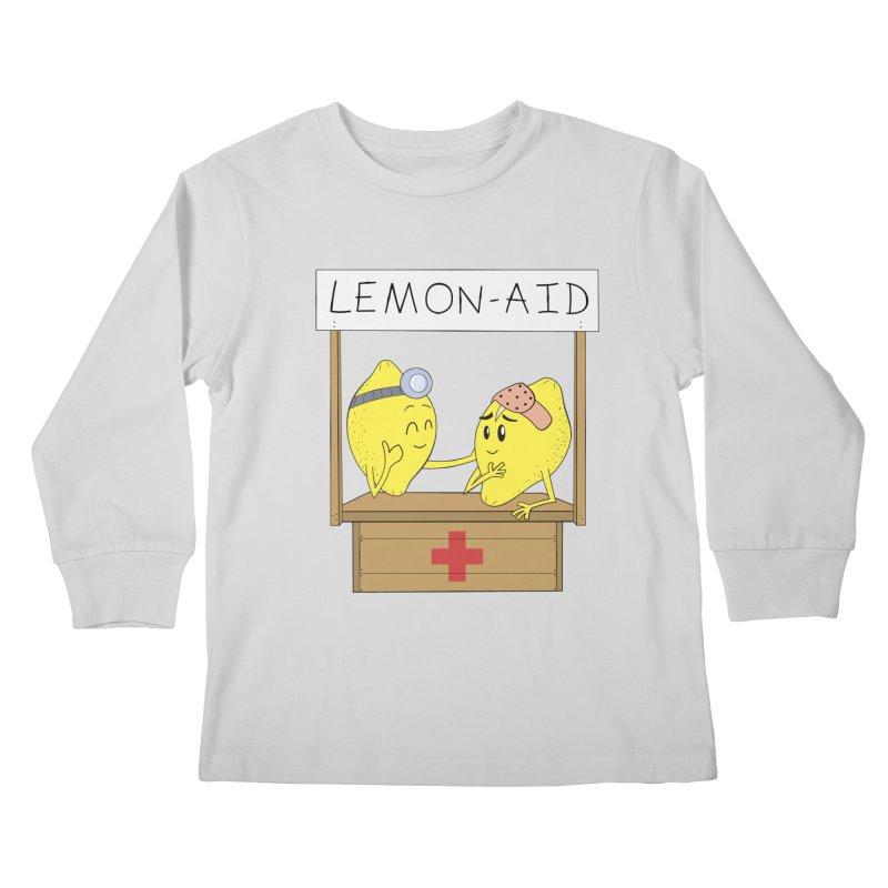 Lemon - Aid Kids Longsleeve T-Shirt by gpedde's Artist Shop