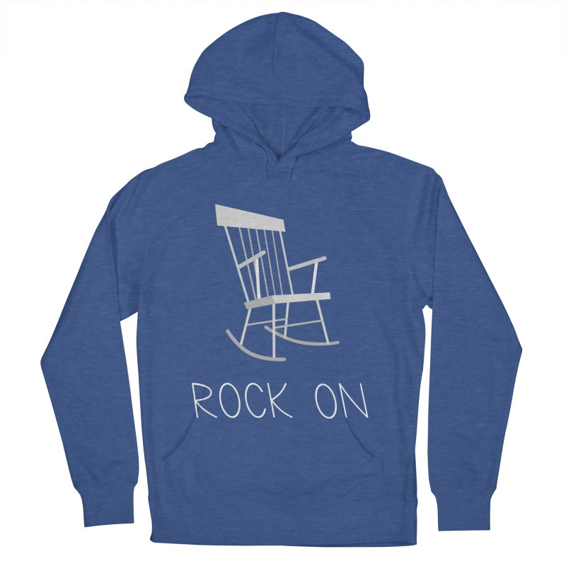 Rock On Women's French Terry Pullover Hoody by gpedde's Artist Shop