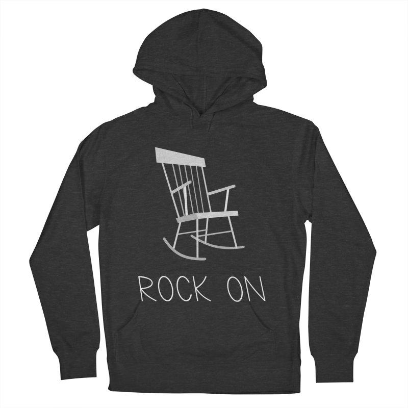 Rock On Men's Pullover Hoody by gpedde's Artist Shop