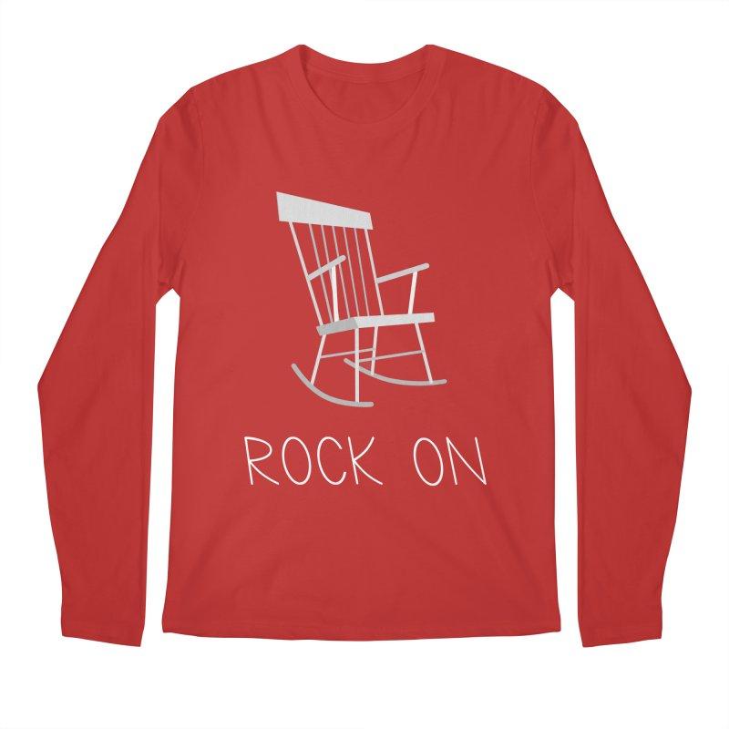 Rock On Men's Longsleeve T-Shirt by gpedde's Artist Shop