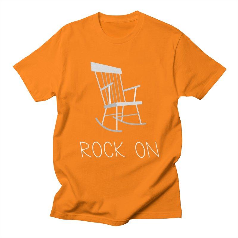 Rock On Men's T-shirt by gpedde's Artist Shop
