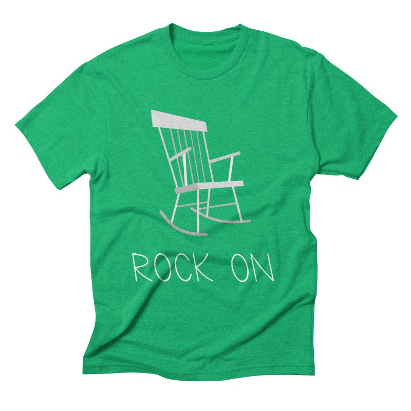Rock On Men's Triblend T-Shirt by gpedde's Artist Shop
