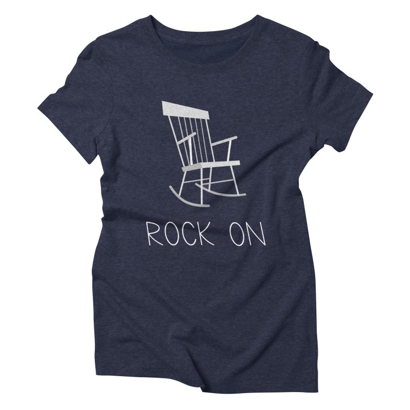 Rock On Women's Triblend T-shirt by gpedde's Artist Shop