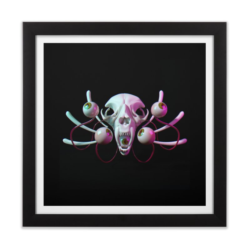 Bones X Home Framed Fine Art Print by CoolStore