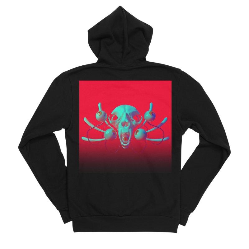 Bones Y Men's Zip-Up Hoody by CoolStore