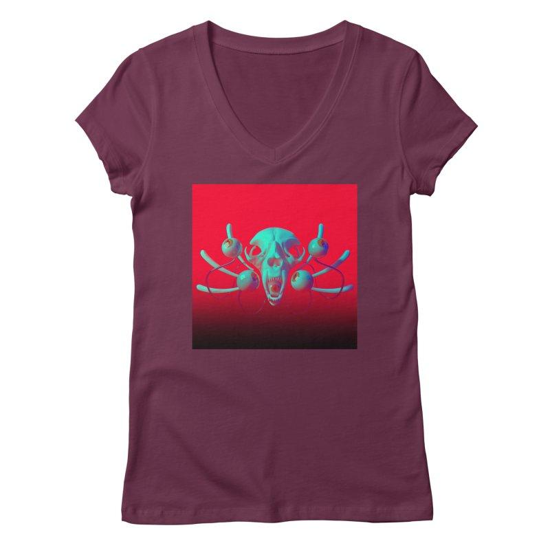 Bones Y Women's V-Neck by CoolStore