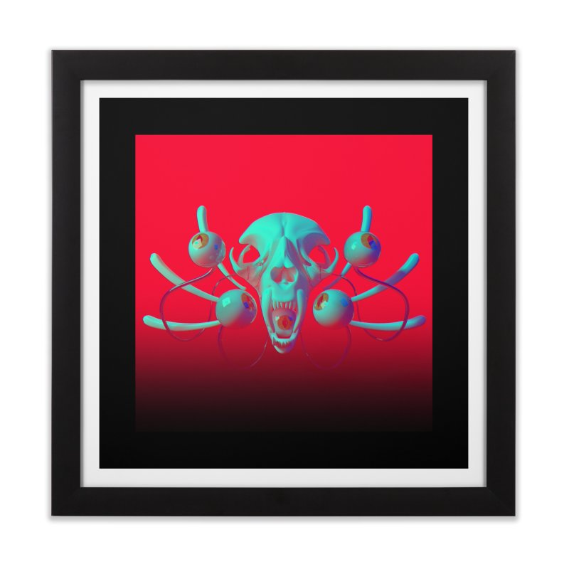 Bones Y Home Framed Fine Art Print by CoolStore