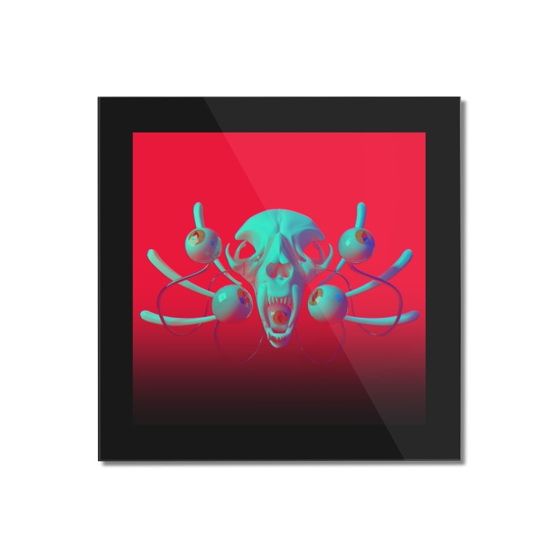 Bones Y Home Mounted Acrylic Print by CoolStore