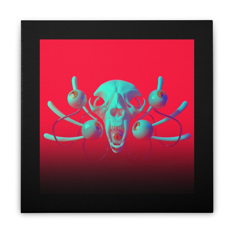 Bones Y Home Stretched Canvas by CoolStore