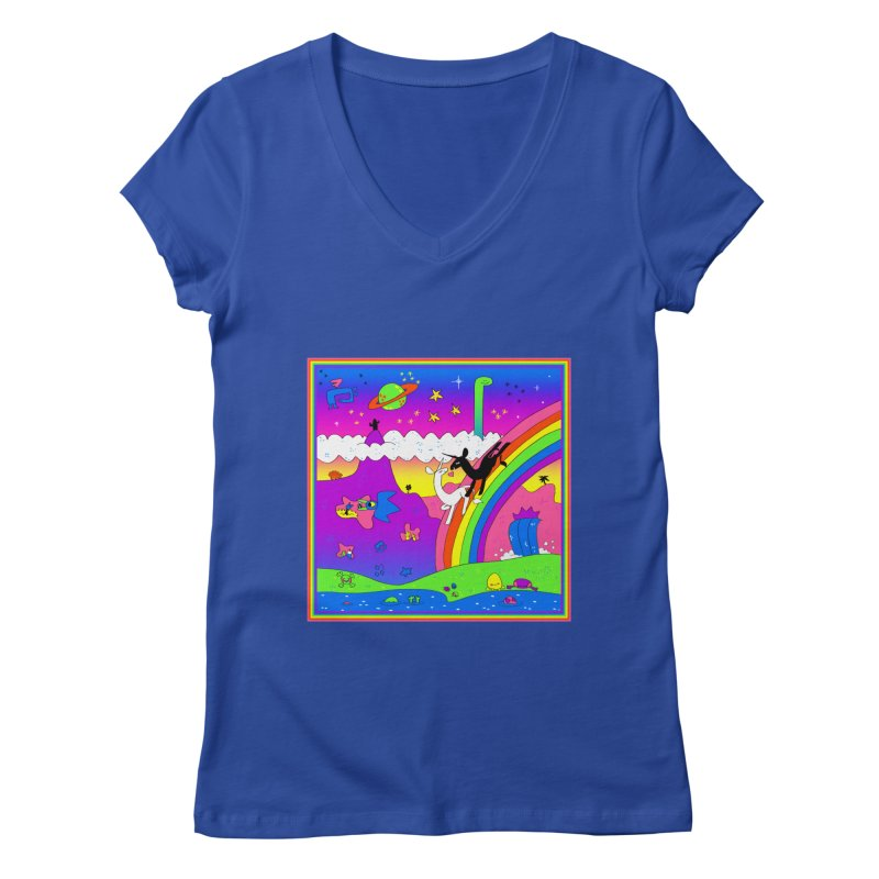 sweet party Women's V-Neck by CoolStore