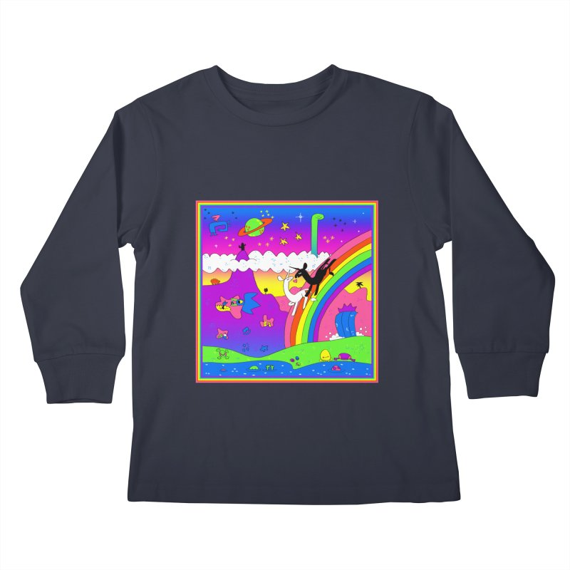 sweet party Kids Longsleeve T-Shirt by CoolStore