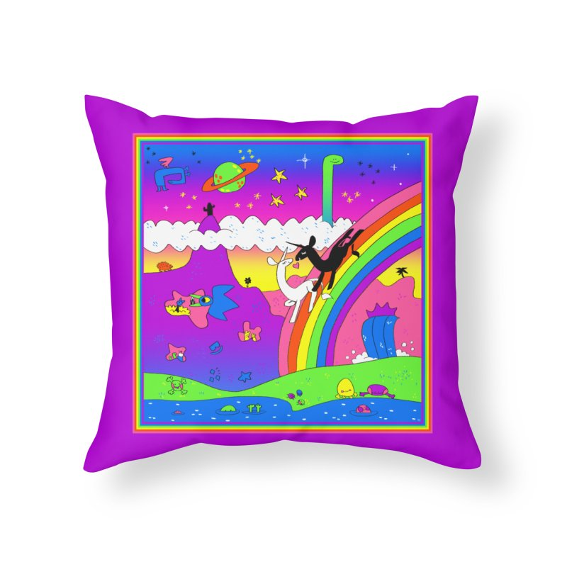 sweet party Home Throw Pillow by CoolStore