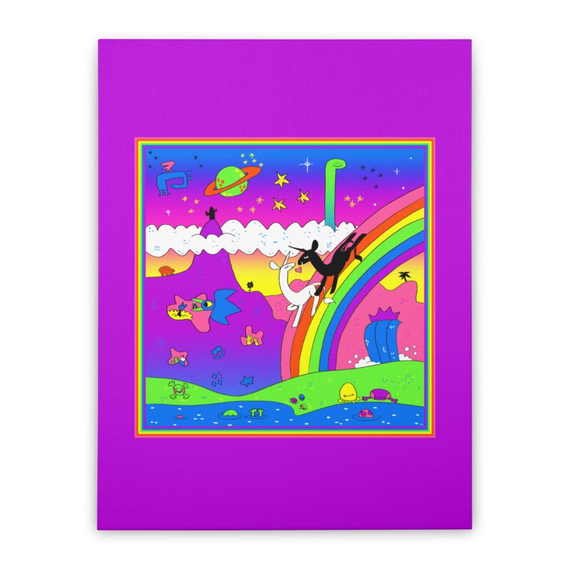 sweet party Home Stretched Canvas by CoolStore