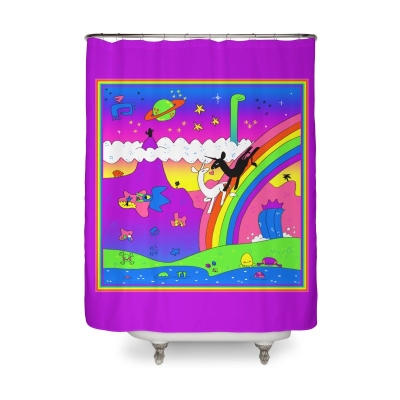 sweet party Home Shower Curtain by CoolStore