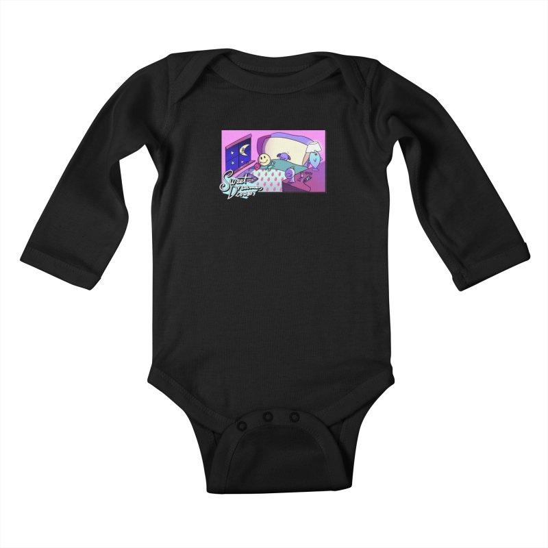 sweet dreams, cowboy Kids Baby Longsleeve Bodysuit by CoolStore