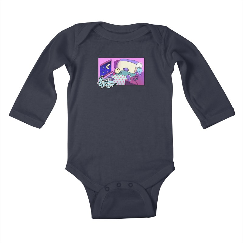 sweet dreams, cowboy Kids Baby Longsleeve Bodysuit by CoolStore